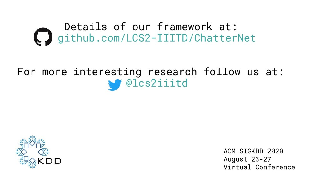 Details of our framework at: github.com/LCS2-II...