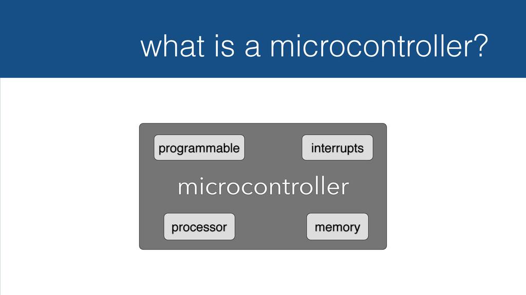 microcontroller processor memory programmable i...