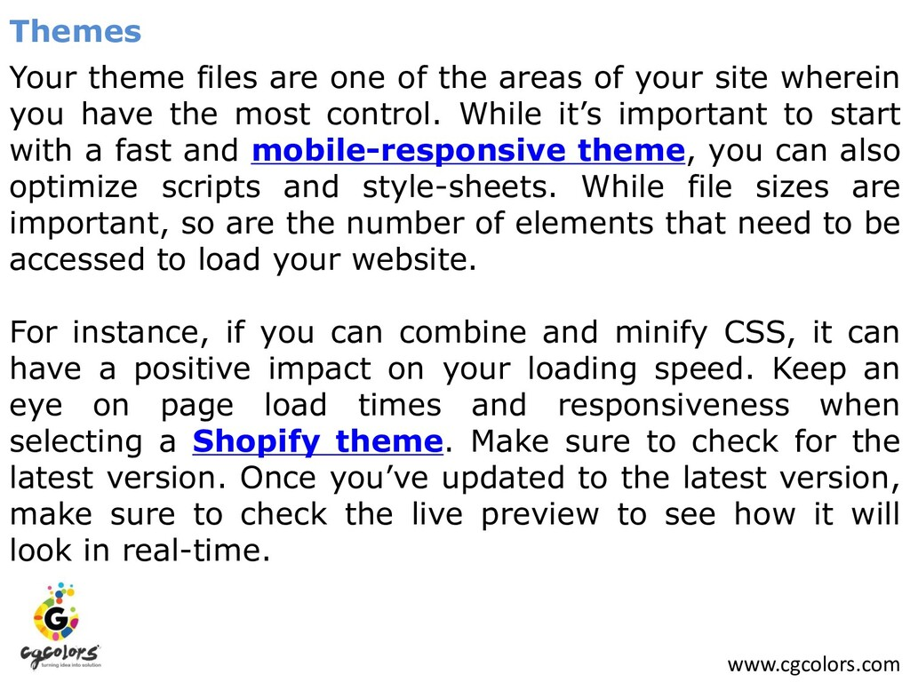 www.cgcolors.com Themes Your theme files are on...