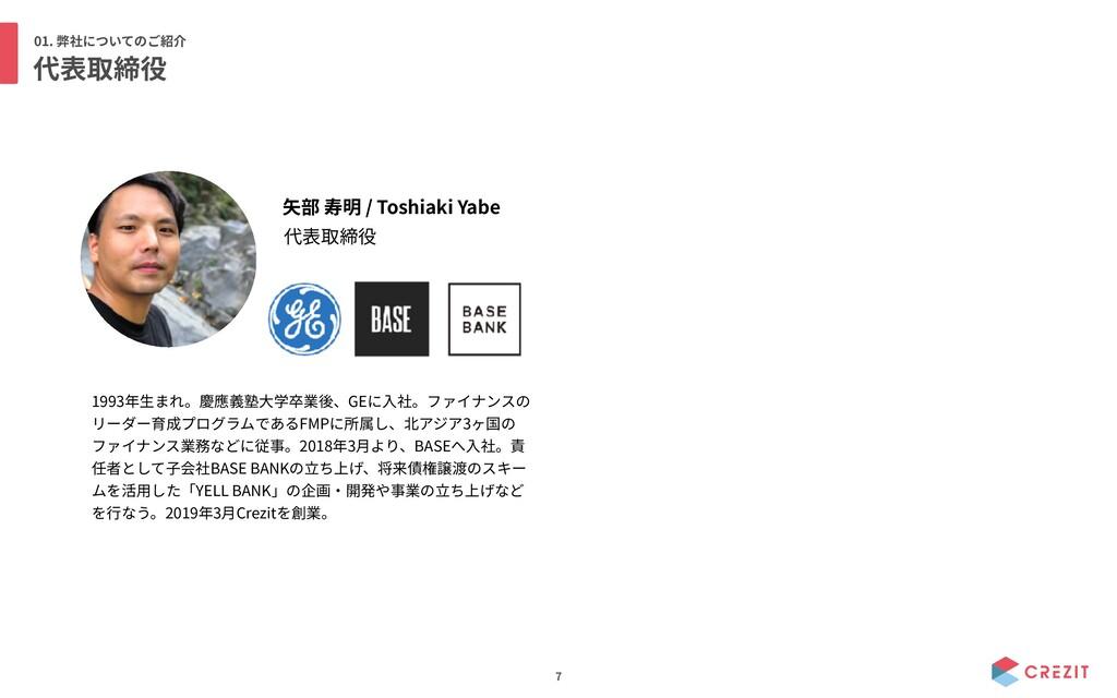 01. 7 / Toshiaki Yabe 1993 GE FMP 3 2018 3 BASE...