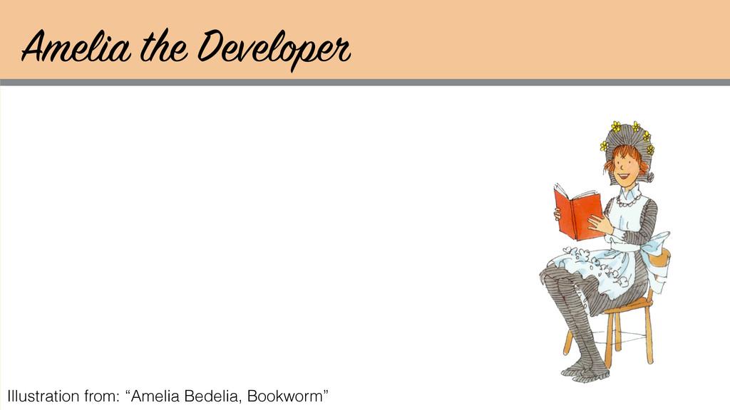 "Amelia the Developer Illustration from: ""Amelia..."