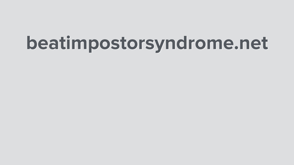 beatimpostorsyndrome.net