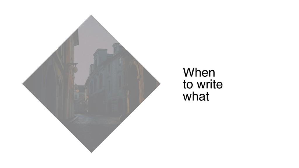 When to write what E2E Unit Integration Snapshot