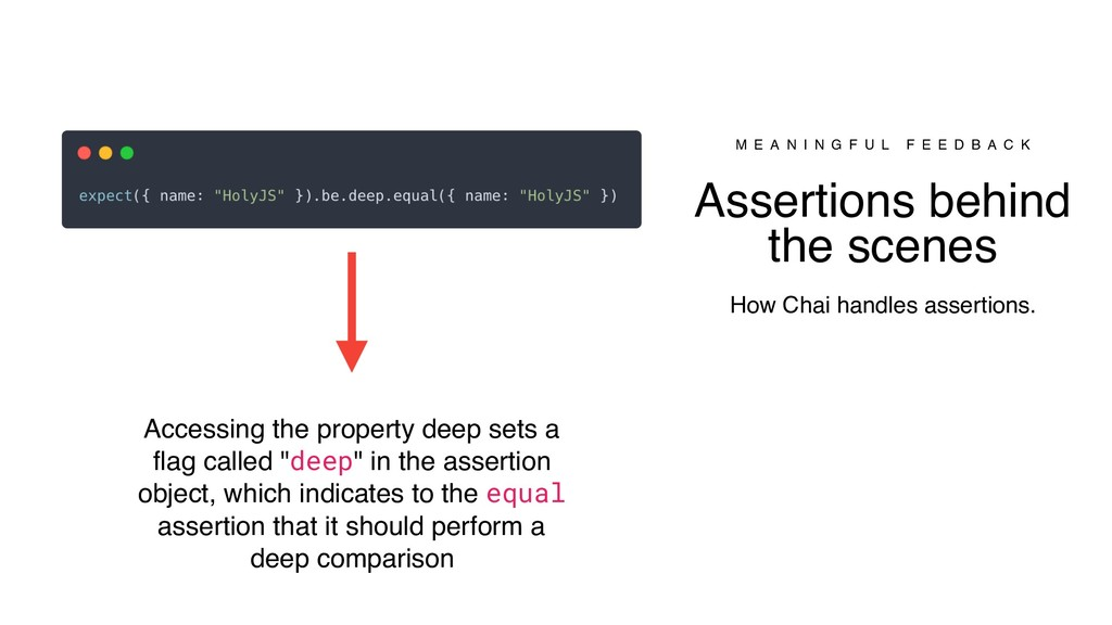 Accessing the property deep sets a flag called ...