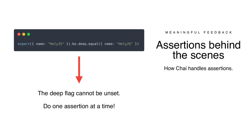 The deep flag cannot be unset. Do one assertion...