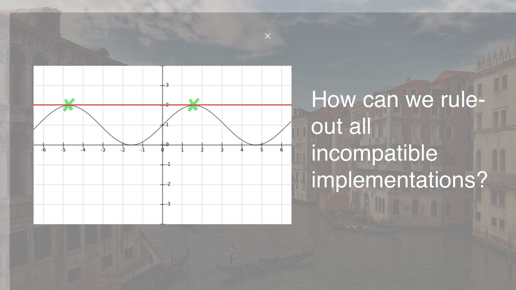 How can we rule- out all incompatible implement...