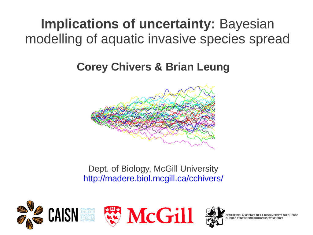 Implications of uncertainty: Bayesian modelling...