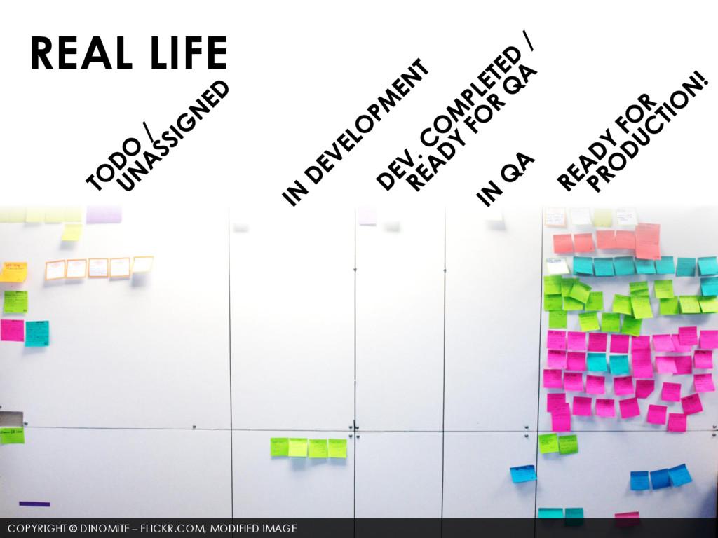 REAL LIFE COPYRIGHT © DINOMITE – FLICKR.COM, MO...