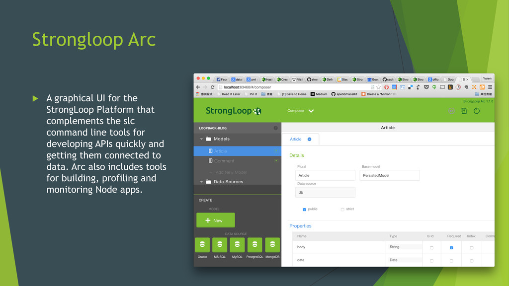 Strongloop Arc u A graphical UI for the Strong...