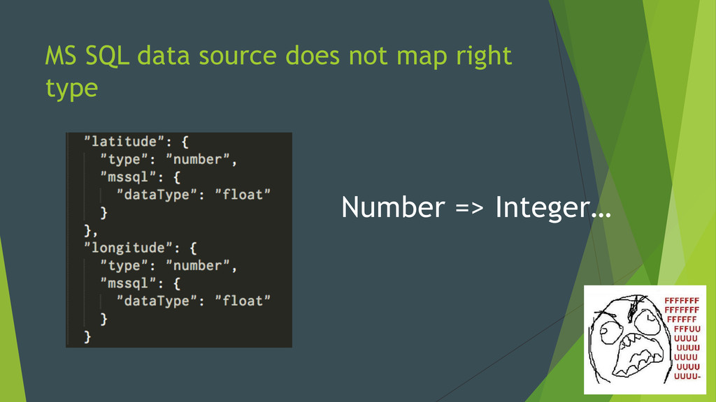 MS SQL data source does not map right type Numb...