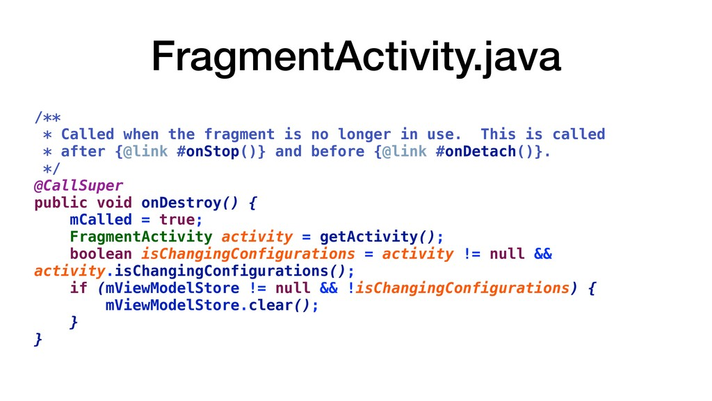 FragmentActivity.java /** * Called when the fra...