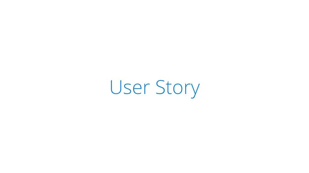 SCRUM User Story