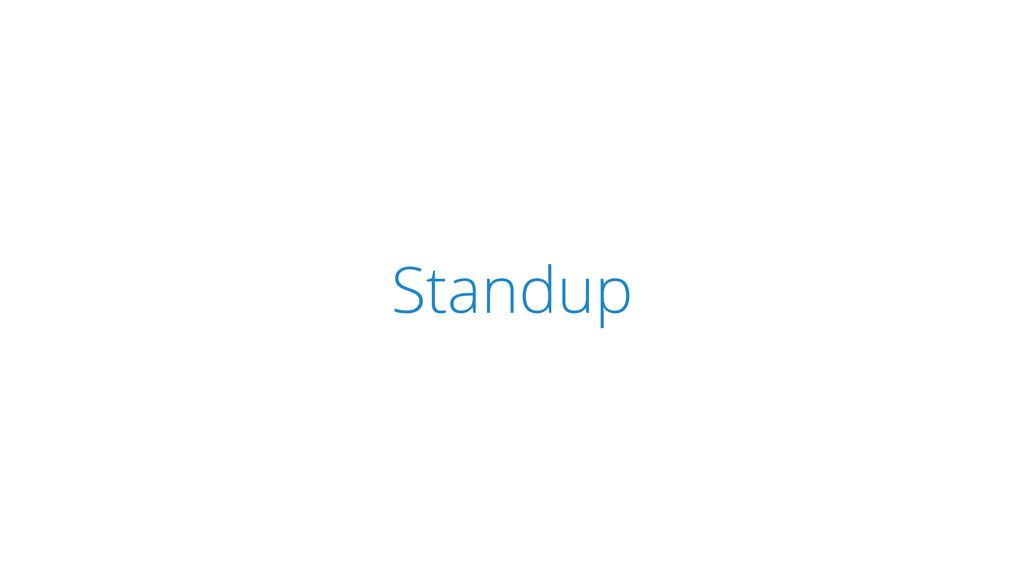 SCRUM Standup