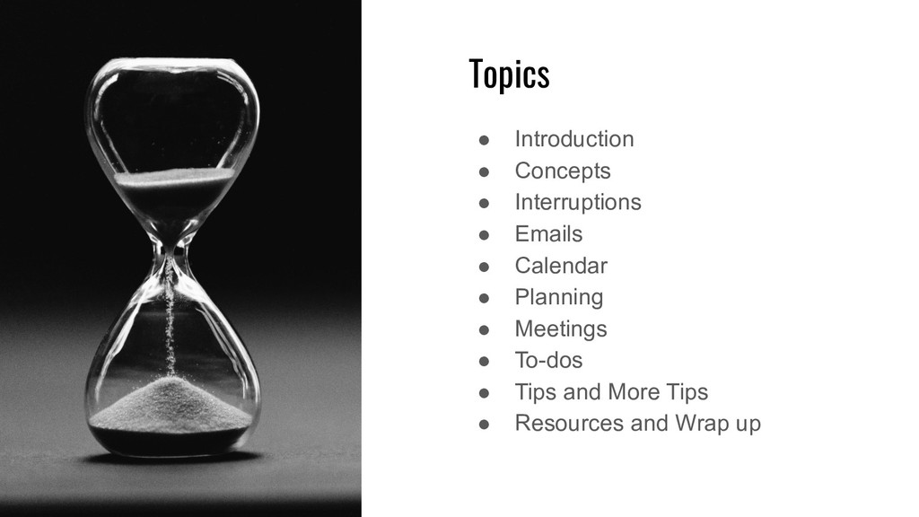 Topics ● Introduction ● Concepts ● Interruption...