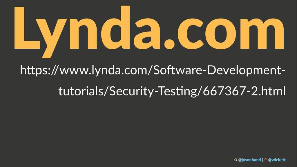"Lynda.com h""ps:/ /www.lynda.com/So2ware-Develop..."