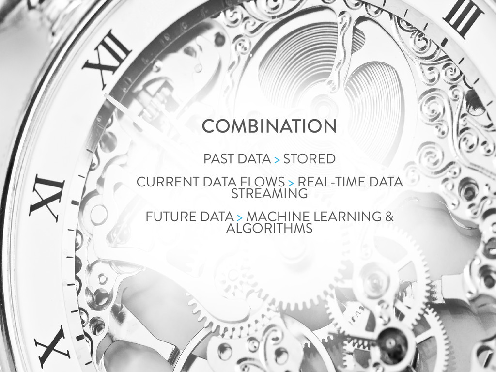COMBINATION PAST DATA > STORED CURRENT DATA FLO...