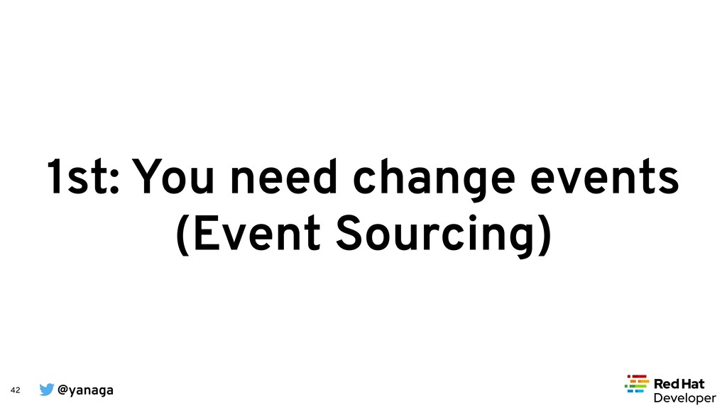 @yanaga 42 1st: You need change events (Event S...