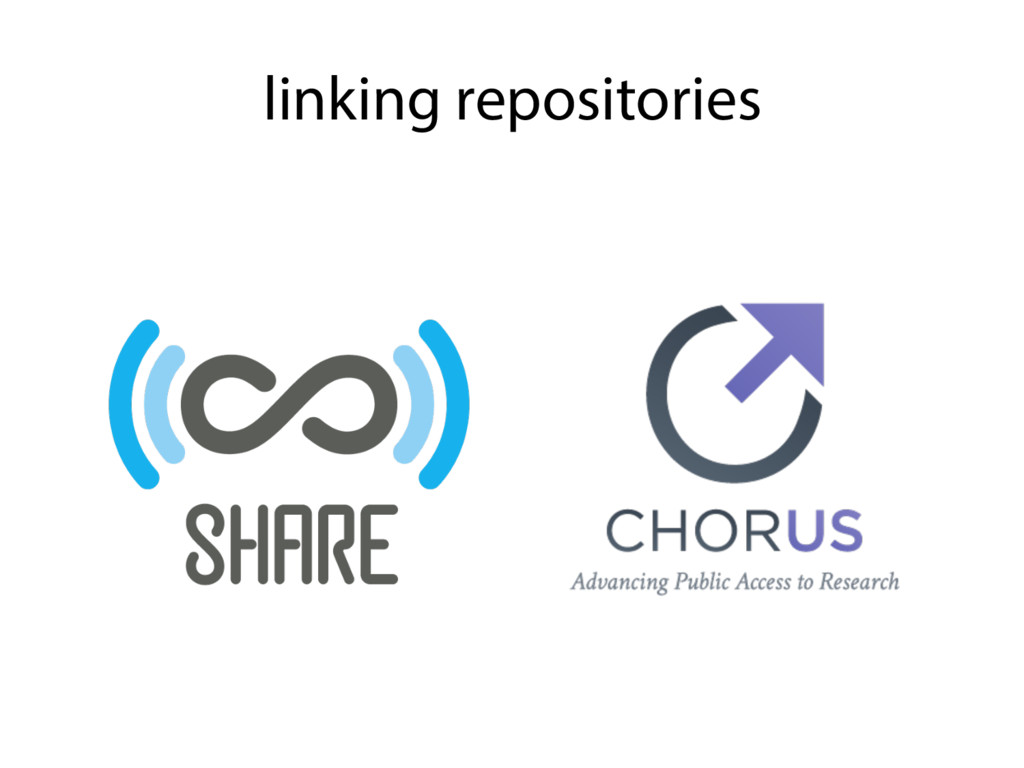 linking repositories