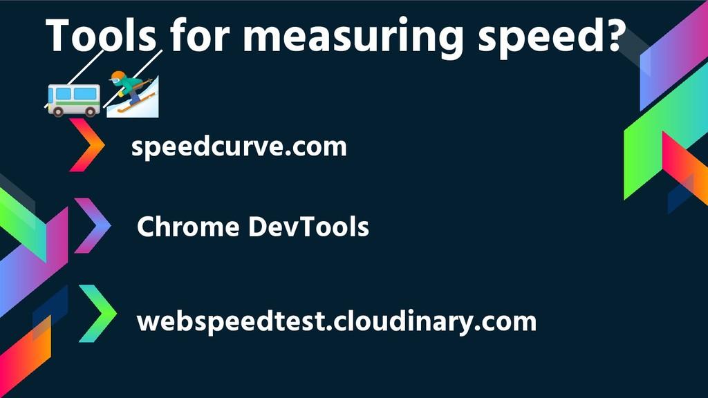 speedcurve.com Chrome DevTools webspeedtest.clo...