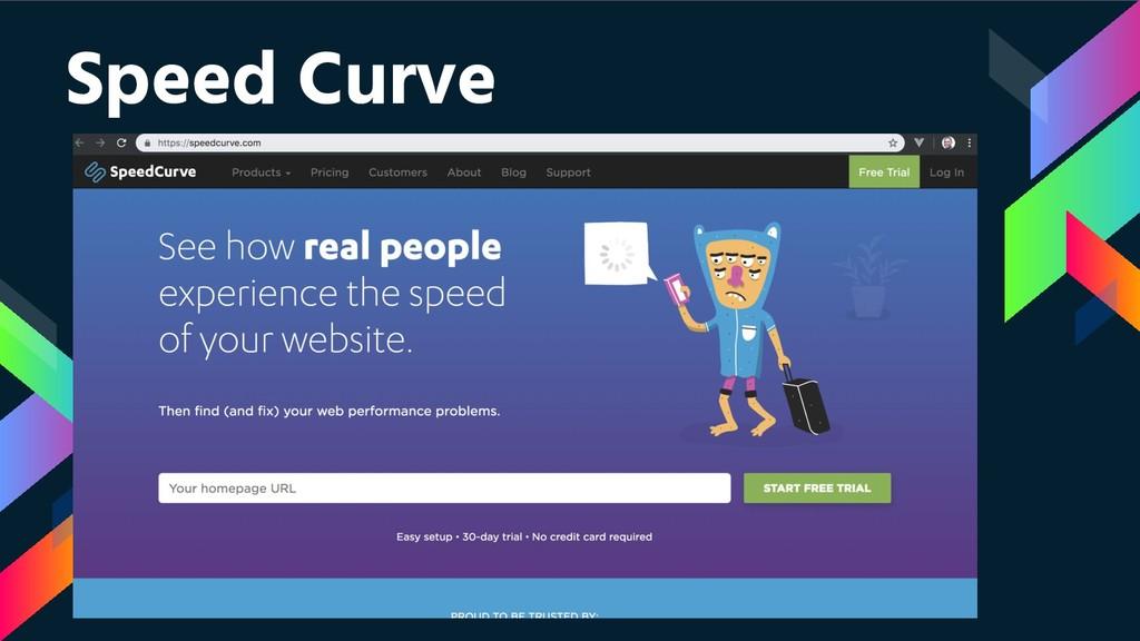 Speed Curve