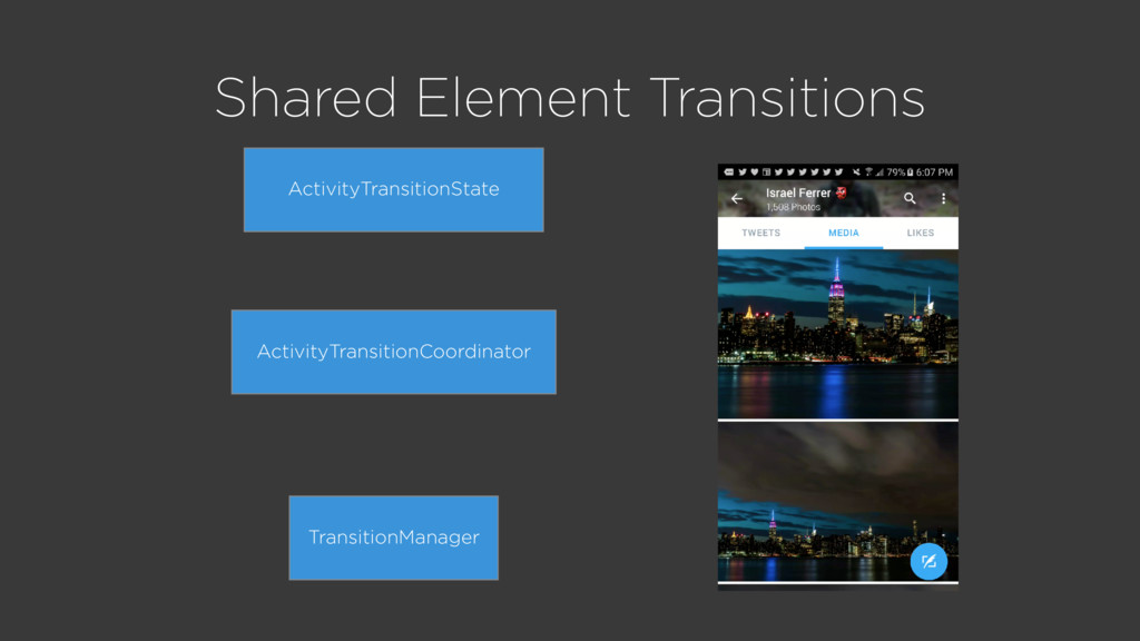 Shared Element Transitions TransitionManager Ac...