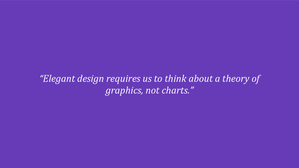 """""""Elegant design requires us to think about a th..."""