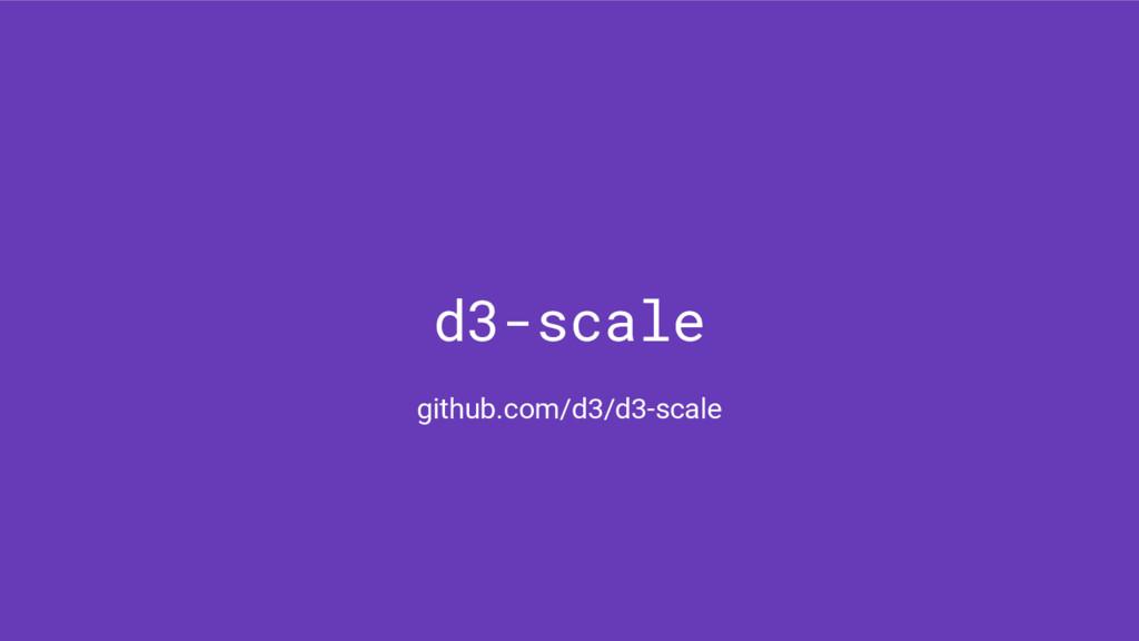 d3-scale github.com/d3/d3-scale