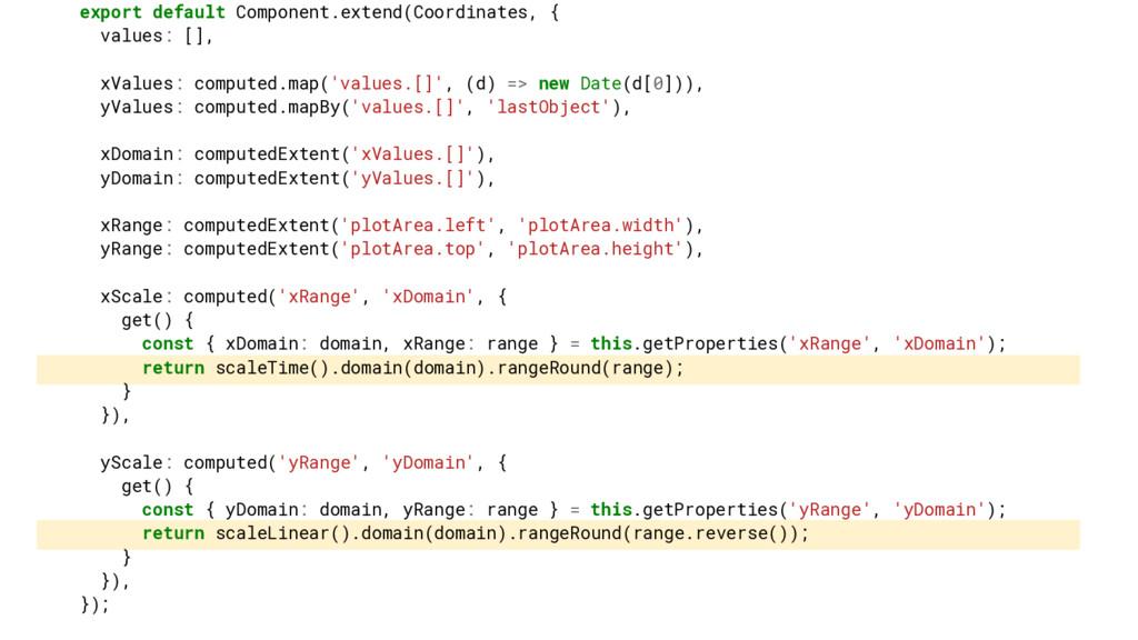 export default Component.extend(Coordinates, { ...
