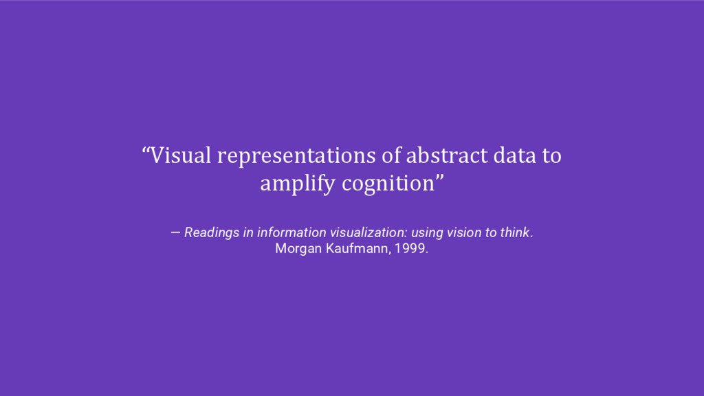 """Visual representations of abstract data to amp..."