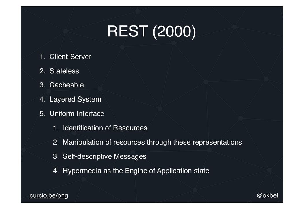 @okbel curcio.be/png REST (2000) 1. Client-Serv...