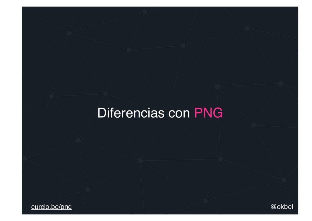 @okbel curcio.be/png Diferencias con PNG