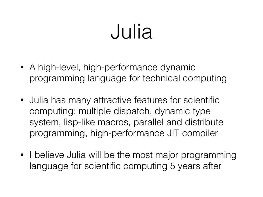 Julia • A high-level, high-performance dynamic ...