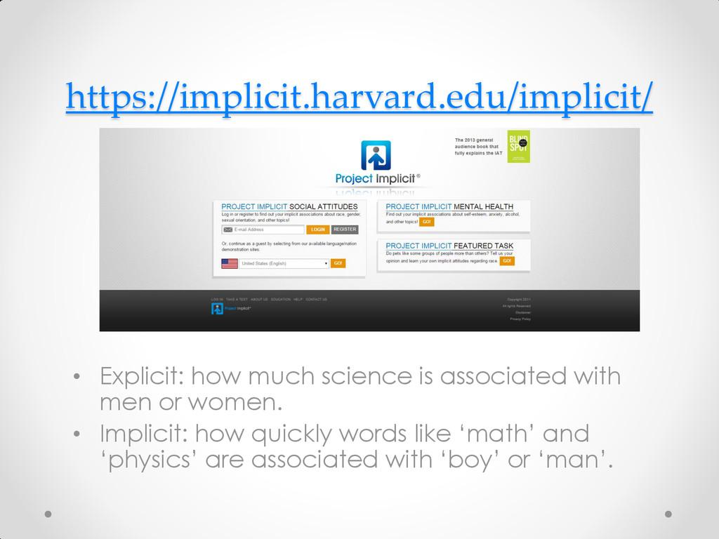 https://implicit.harvard.edu/implicit/ • Explic...