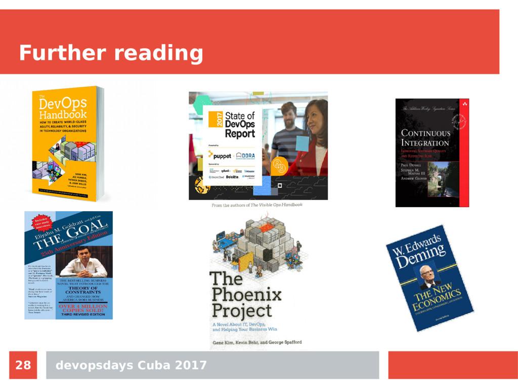 devopsdays Cuba 2017 28 Further reading