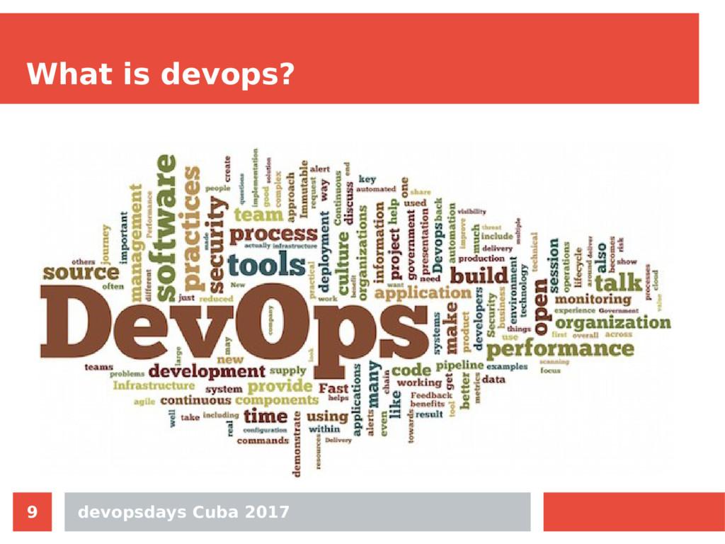 devopsdays Cuba 2017 9 What is devops?