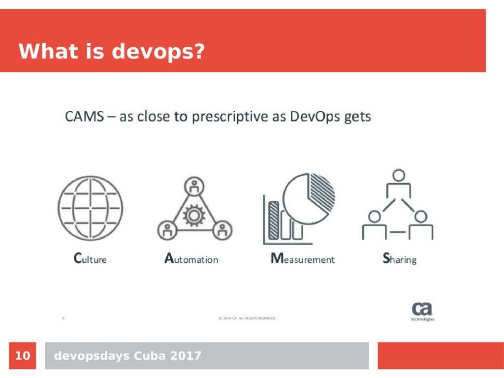 devopsdays Cuba 2017 10 What is devops?