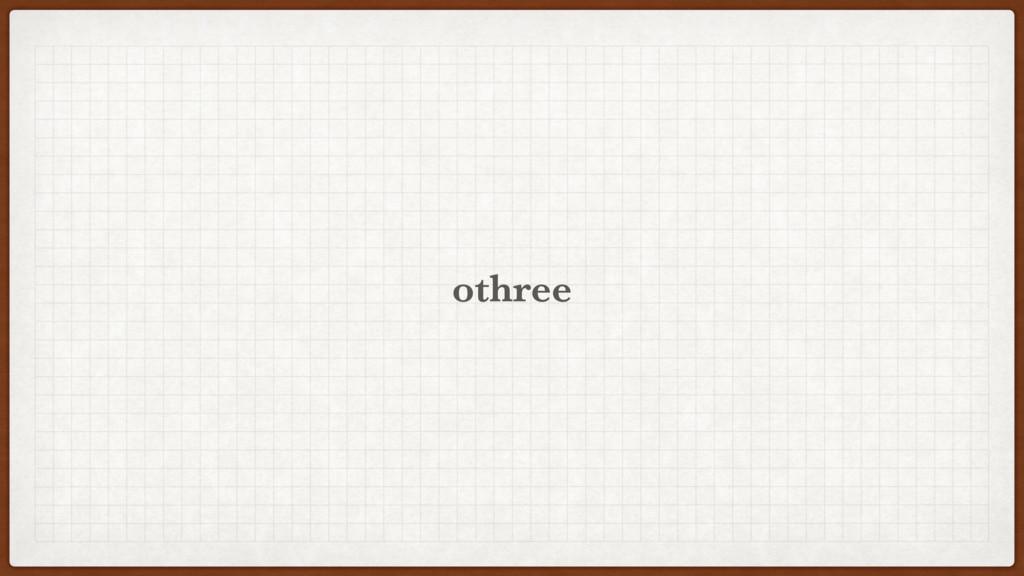 othree
