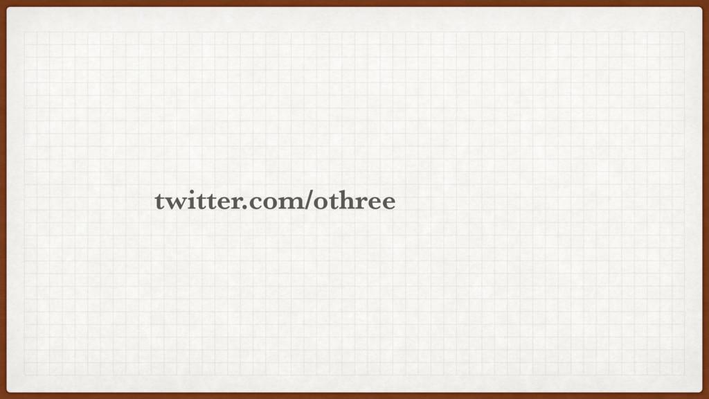 othree twitter.com/