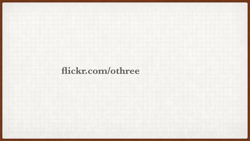 othree flickr.com/
