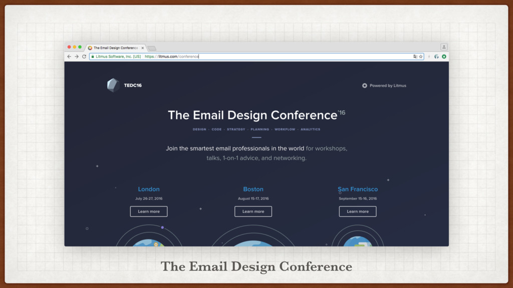 The Email Design Conference
