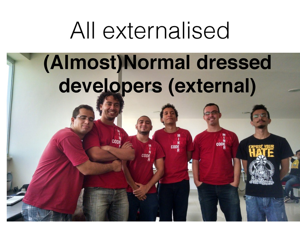 All externalised (Almost)Normal dressed develop...