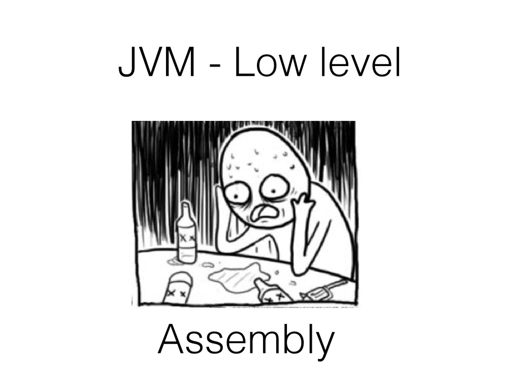 JVM - Low level Assembly