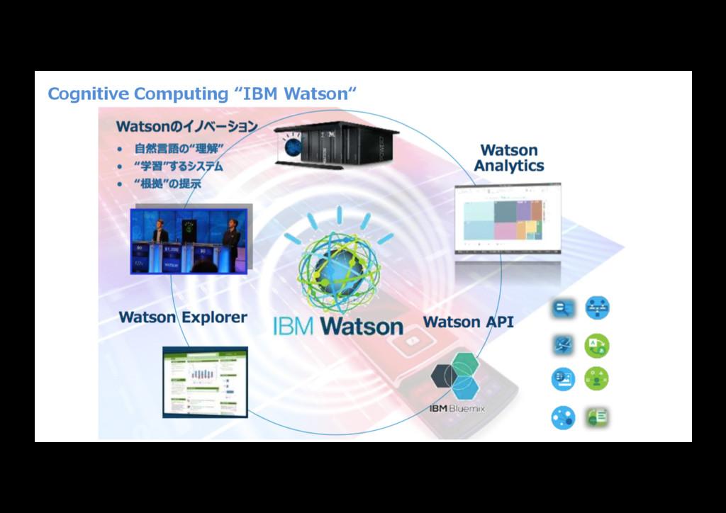 "Cognitive Computing ""IBM Watson"""