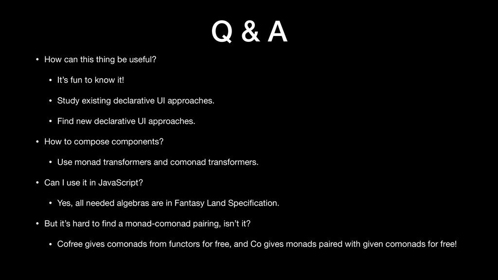 Q & A • How can this thing be useful?  • It's f...