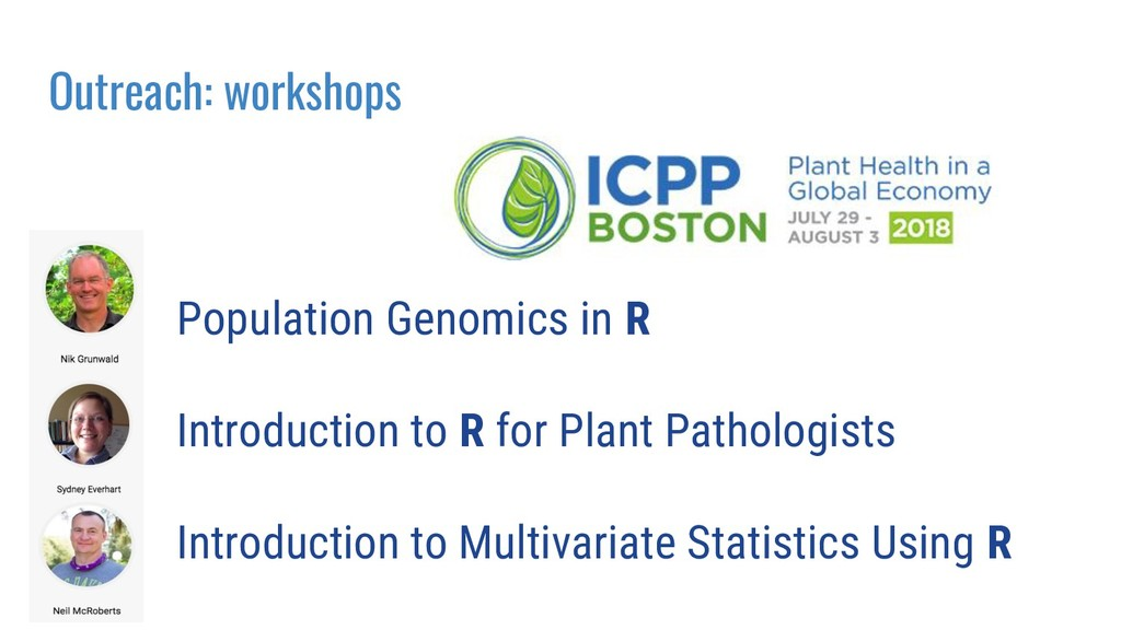 Population Genomics in R Introduction to R for ...