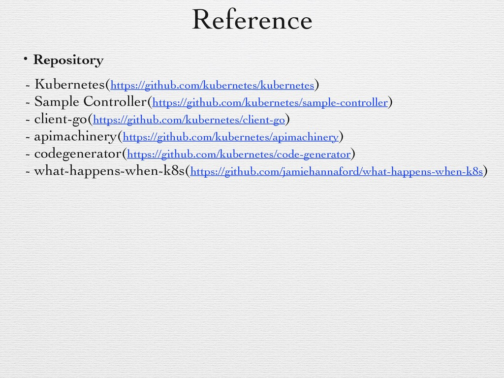 Reference ɾRepository - Kubernetes(https://gith...