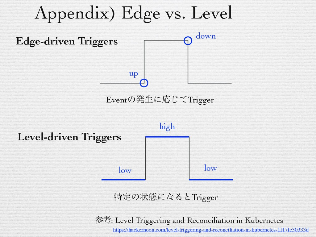 Appendix) Edge vs. Level https://hackernoon.com...