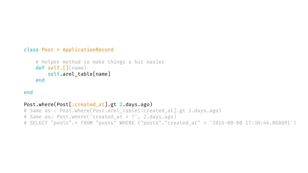 class Post < ApplicationRecord # Helper method ...