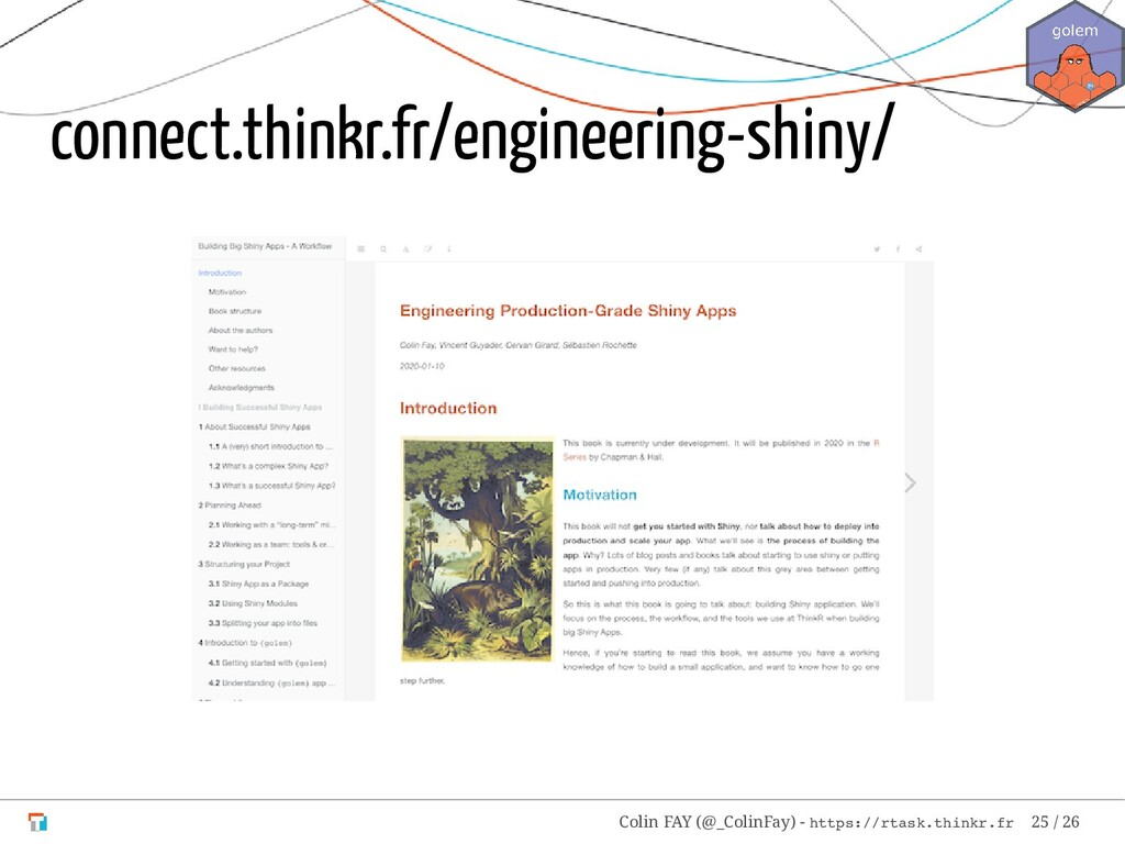 connect.thinkr.fr/engineering-shiny/ Colin FAY ...