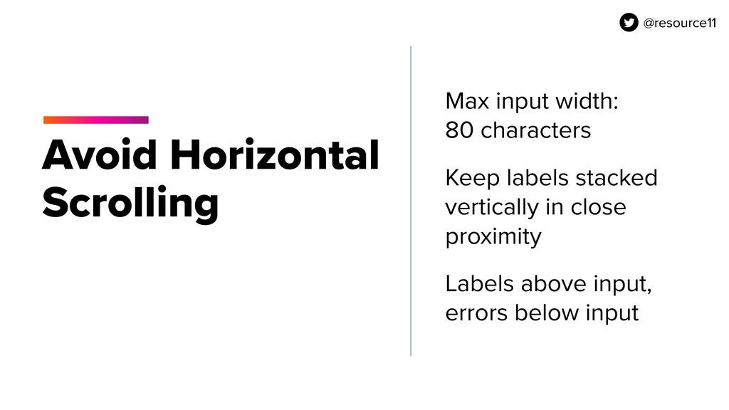 @resource11 Avoid Horizontal Scrolling Max inpu...